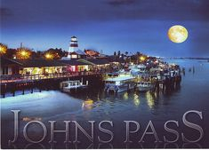 johns pass | Moon over Johns Pass Florida | Flickr - Photo Sharing!