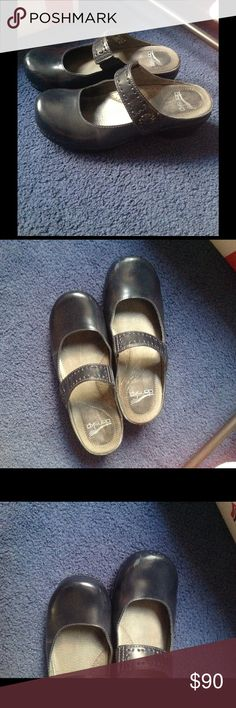 Dansko Mary Jane Shoes Barely worn but does have some scuffs shown Dansko Shoes Mules & Clogs