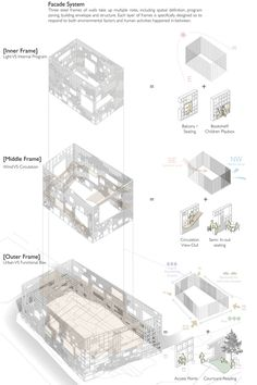 In Between Library - Daegu Gosan Public Library by Nomad Office Architects , via Behance