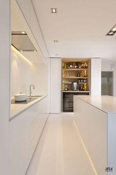 Inschuifdeuren: Portfolio van ons interieurprojecten en realisaties // Artur Interieur