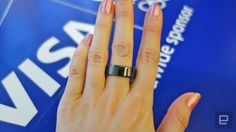 Olympic athletes will sport Visa's new payment ring in Rio - It's sleek and discreet, until you try paying for a Coke by waving your hands in the air (because you clearly just don't care).