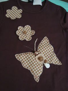 BETH ARTESLINDAS: Aplicações de tecidos em camisetas