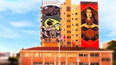 Malaga's art district SOHO is being turned into a working canvas for artists from all over the world.
