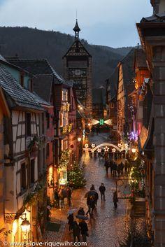 Riquewihr(dolder-nuit-jenny-vert.) Alsace  France