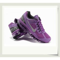 Women's Nike Air Max 2013 purple/grey 555363-500