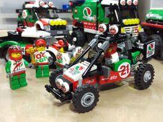 Lego MOC - Octan sand buggy. - Now that's really cool. I will definitely consider that a buildable option.