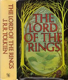 THE LORD OF THE RINGS TRILOGY - J.R.R.TOLKIEN (HCDJ; 1980)
