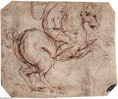 Leonardo Da Vinci-étude dun motard