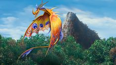 Death Song the Siren Dragon from Dreamworks Dragons: Race to the Edge