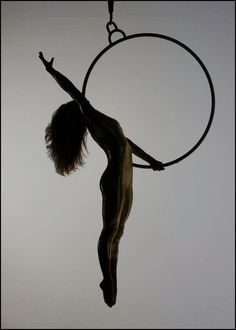 jenyne butterfly - aerial hoop. one of my favorite, easy, but crowdpleasing moves.