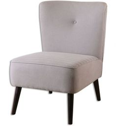 Uttermost - 23201 - Zaine Modern Armless Chair #moderndecor
