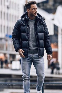 winter outfits for work . winter outfits for school . winter outfits for going out Fall Fashion Outfits, Dope Fashion, Winter Fashion Outfits, Dope Outfits, Men Winter Fashion, Winter Outfit For Men, Winter Clothes For Men, Fashion Photo, Fashion Women