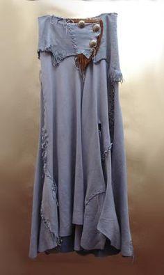 The Lucky Blue Bird Skirt, Montana Dreamwear
