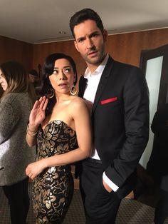 Find images and videos about tom ellis, lucifer cast and aimee garcia on We Heart It - the app to get lost in what you love. Lucifer 3, Tom Ellis Lucifer, Chloe Decker, Aimee Garcia, Tricia Helfer, Lauren German, Dc Comics, Taylor Kinney, Dramas