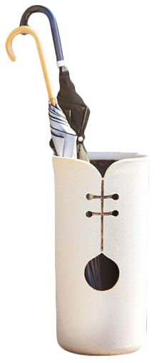Japanese Pottery :: Umbrella Stand More