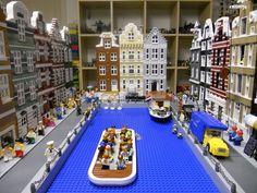 Amsterdam in Lego.