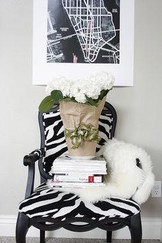Anything zebra is fabulous.