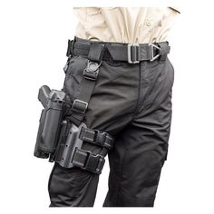 Official source for BLACKHAWK® tactical holsters. BLACKHAWK® tactical holsters are precision crafted with advanced technology including our proven, reliable SERPA Auto Lock retention system. Police Tactical Gear, Tactical Holster, Police Gear, Tactical Vest, Gun Holster, Military Gear, Blackhawk Tactical, Drop Leg Holster, Revolver