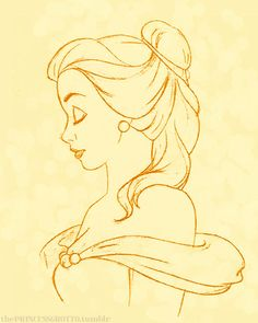 Concept Art Disney Princess The Beast 68 Ideas For 2019 Disney Princess Drawings, Disney Sketches, Disney Princesses, Disney Characters, Belle Drawing, Drawing Sketches, Drawing Faces, Sketching, Cartoon Drawings