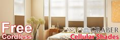 Cellular Shades that are beautiful and available with great money saving deals.