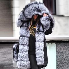 Noble Luxury Punk Style Faux Fur Overcoat Fashion girls, party dresses long dress for short Women, casual summer outfit ideas, party dresses Fashion Trends, Latest Fashion # Faux Fur Hooded Coat, Faux Fur Jacket, Velvet Jacket, Punk Fashion, Fashion Outfits, Womens Fashion, Jackets Fashion, Fashion Top, Latest Fashion