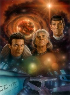 Wrath of Khan illustration  #startrek