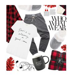 """""""What to Wear: Netflix Binge"""" by pisces7 ❤ liked on Polyvore featuring Tourne, Madewell, Lord & Taylor, Sundry, Victoria's Secret, Printable Wisdom, Fall, LazyDay, netflix and Netflixbinge"""
