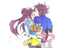 Pokemon Mew, Pokemon Rosa, Pokemon Manga, Black Pokemon, Pokemon Ships, Pokemon Fan Art, Cute Pokemon, Cute Anime Guys, Cute Anime Couples