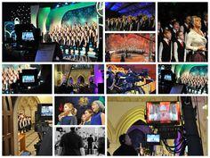 TV and radio broadcasts...  Hywel Girls' Choir & Hywel Boy Singers founded by John Hywel Williams MBE...