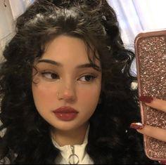 Comment your favorite heart emoji💞 Cute Makeup Looks, Pretty Makeup, Aesthetic Hair, Aesthetic Makeup, Edgy Makeup, Hair Makeup, Soft Grunge Makeup, Makeup Eyeshadow, Alternative Makeup