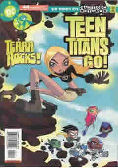 """Teen Titans Go!:  Teen Titans Go! focuses on the """"funny business"""" that happens between the Teen Titans when not saving the world and when living together as teenagers without adult supervision. The Teen Titans must deal with situations such as teenage pranks reaching a whole new level, or having to take Driver's Ed after wrecking the Batmobile. The show will be part of the DC Nation block on Cartoon Network."""