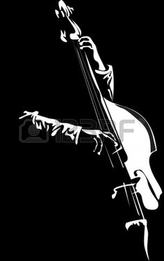 bassist - Stock Photo - Ideas of Stock Photo Photo - Millions of Creative Stock Photos Vectors Videos and Music Files For Your Inspiration and Projects. Music Painting, Music Artwork, Art Music, White Art, Black Art, Photoshop, Images Pop Art, Black Paper Drawing, Music Drawings