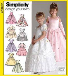 Avalanche de robes de princesses !