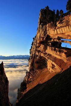 The Tour Percée in the Chartreuse Mountains, France.Photo by Arpenteur de lumière - Photographies