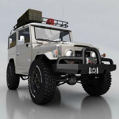 Toyota Land Cruiser. In love!