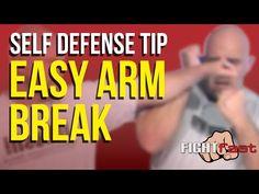 Self-Defense Tip - Easy Arm Break - YouTube