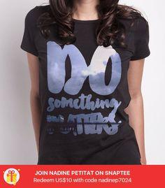 do something matter -- Probiere es aus unter #Snaptee #tshirt