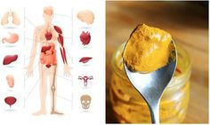 "A teaspoon of turmeric a day keeps inflammation, toxins, pain, and cancers at bay.In India, turmeric has been used and crowned the ""Queen of all Spices"" f Home Recipes, Healthy Recipes, Healthy Food, Healthy Options, How To Eat Ginger, Healthy Holistic Living, Healthy Living, Nutrition, What Happened To You"