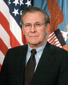 Having dinner with Secretary Rumsfeld tonight!