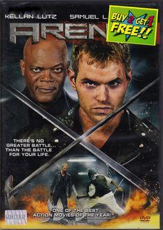 #Arena (2011) DVD -  Widescreen #SamuelLJackson, #KellanLutz, #CultThriller
