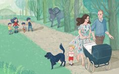Duchess of Cambridge, Duke of Cambridge, Prince George, Princess Charlotte, Lupo, Royals, Children's Book, Soefara Jafney, Epigram Books, Picture books, illustration, royals, United Kingdom