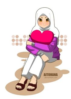 Hijab Drawingislamic anime Hijab Drawing Source : islamic anime by Zitounka Drawing Artist, Drawing Sketches, Drawings, Hijab Drawing, Cartoon N, Anime Muslim, Islamic Girl, Cultural Diversity, Girl Humor