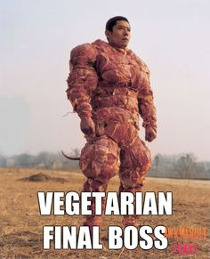 Will this make you laugh? Vegetarian Final Boss