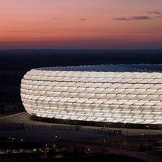 Allianz Arena of FC Bayern, Munich, Germany