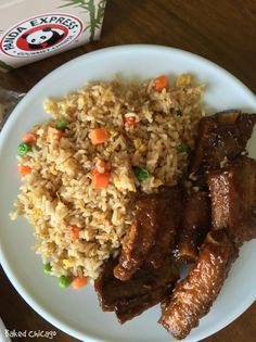 Try the Panda Express Chinese Spare Ribs, available for a limited time, for your next Family Night In. #ad