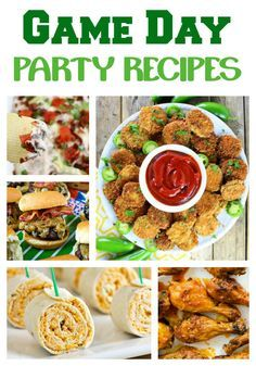 Are you looking for a delicious game day recipe for your next sports party? Check out these 28 Game Day Party Recipes that will perfect on your party table.