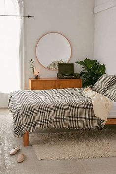Yarn-Dye Gingham Duvet Cover