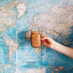 Coffee makes the world go round.