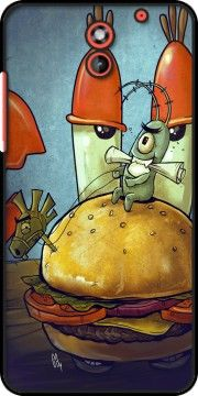 coque Plankton burger pour HTC Desire 620
