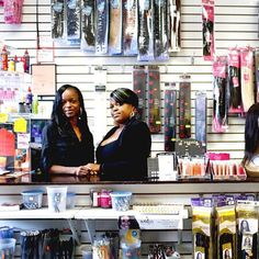 Judian and Kadeian Brown, the owners of Black Girls Divine Beauty Supply and Salon in Brooklyn, NY, were recently featured in the New York Times. Out of the 10,000 beauty stores that sell hair products catered to black women, only a few hundred of those stores are actually black owned. Although the multibillion-dollar hair industry is dominated by Korean entrepreneurs, these go-getters are breaking into the black hair business despite the enormous challenges they face. We admire the Brown…